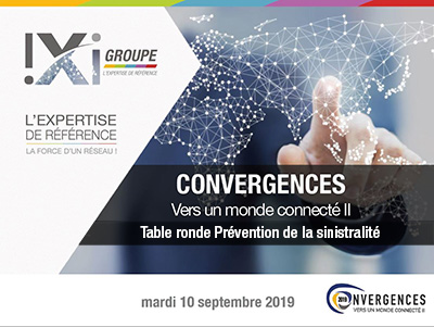 Convergences 2019   Table ronde Prévention de la sinistralite